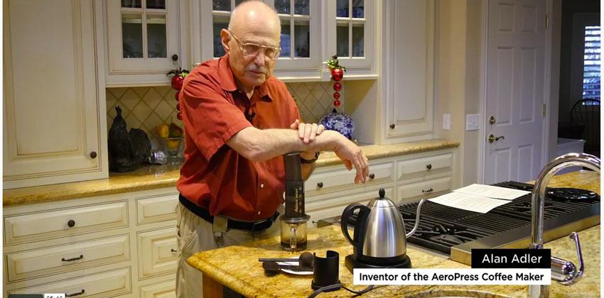 The AeroPress Go travel coffee press