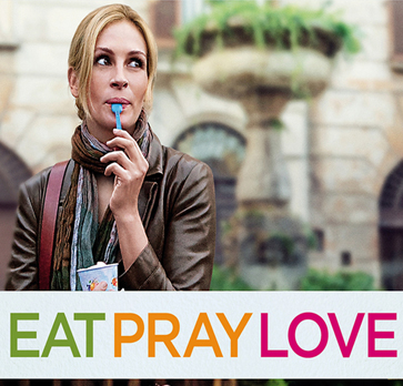 Eat Pray Love hollywood movie