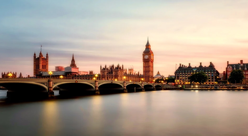 Thames River London United kingdom UK