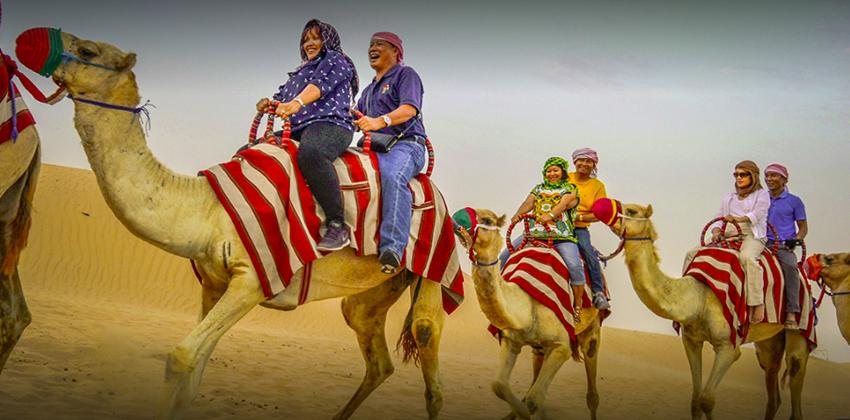 dubai camerl safari