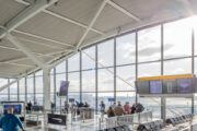 Heathrow Airport's passenger numbers plunge