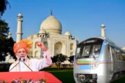 Agra Metro Project inaugurated by PM Modi
