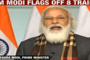 PM Modi flags off 8 trains to boost connectivity tothe Statue of Unity at Kevadiya