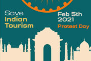 Save India Tourism Day - Kerala Tourism Trade protest against inaction by Govts on 5th FEB