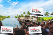 Tourism Lives Matter; voiced aloud at the Save Indian Tourism Protest held at Cochin on 5th Feb