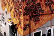 New York muralist on a mission to hand-paint 50,000 bees
