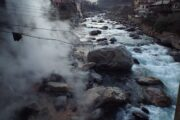 Hot springs in cold places! Wonder of nature