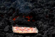 If you go to Guatemala, you can return after eating hot pizza baked in volcanic lava