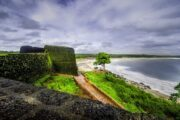 The renovated Bekal Fort awaits the arrival of tourists