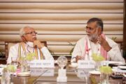 Prahlad Singh Patel and CM of Haryana held a meeting for the development of tourism-related projects in the state