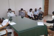 A review meeting was held in connection with the Kovalam tourism development.