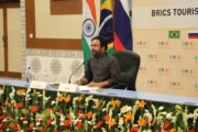 Minister for Tourism Shri G. Kishan Reddy chairs the BRICS Tourism Ministers' meeting today