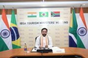 India organises the IBSA (India, Brazil and South Africa) Tourism Ministers' virtual meet